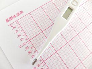 産み分けのための基礎体温表